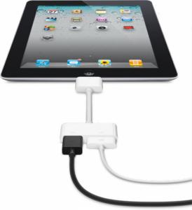 iPad 2 HDMI-udgang