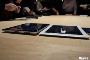 iPad 2 tyndere