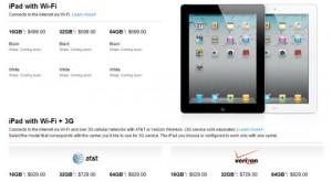 iPad 2 vejledende udsalgspriser
