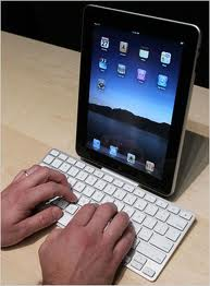 Parre iPad med Bluetooth enhed