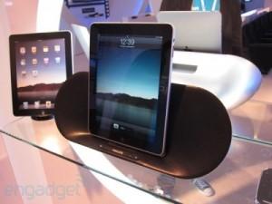 iPad dock