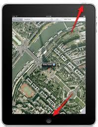 Tag foto af din iPad skærm