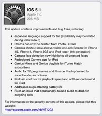 iOS 5.1 til iPad og iPhone