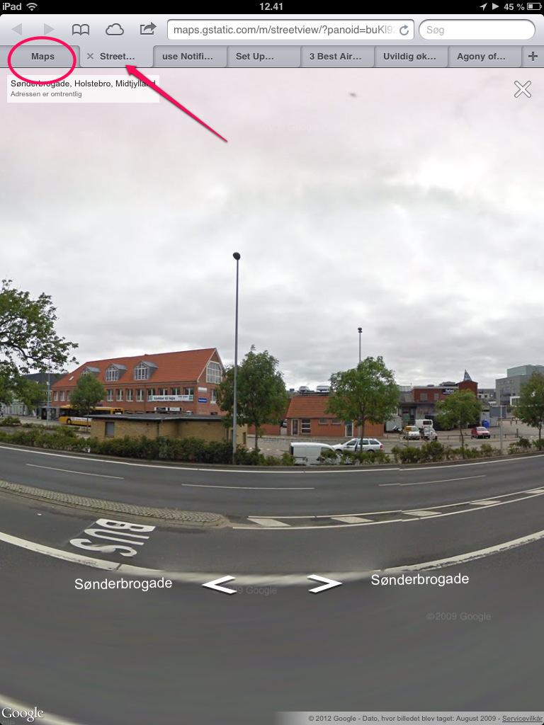 Google Street View tilbage på iPad og iPhone