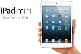 iPad mini specifikationer